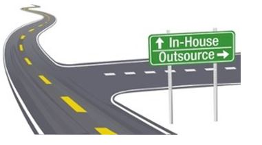 outsourced HR sign