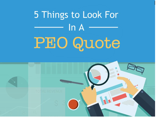 5 Things to Look for in a PEO Quote