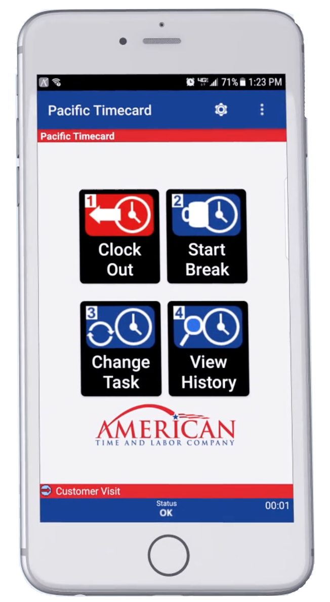 American Time and Labor Mobile