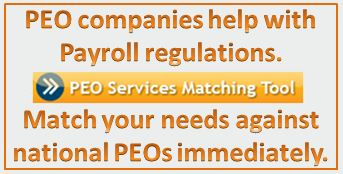 PEO Services Matching Tool