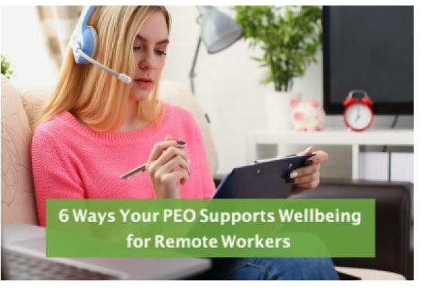 Support Remote Worker Wellbeing